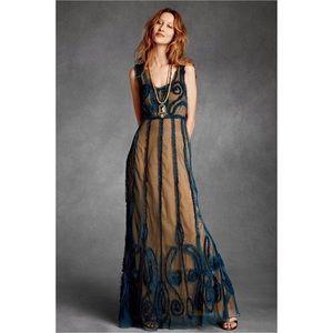 BHLDN James Coviello Indigo Mist Dress